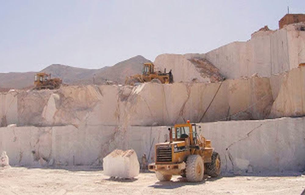 موقعیت معادن سنگ مرمریت دهبید